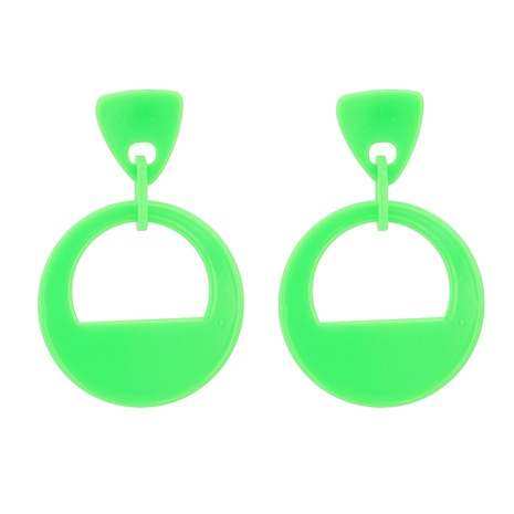 Acrylic Geometric Pendant Earrings NHJJ319639's discount tags