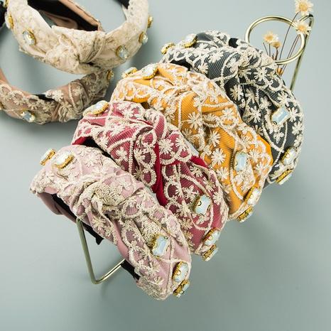 neue koreanische Mode Spitze Blume Stirnband NHLN319672's discount tags