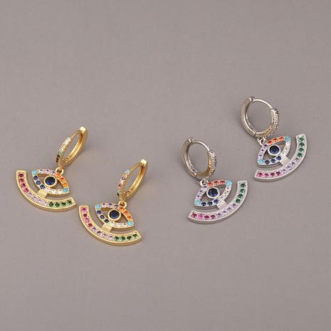 pendientes de circonita con micro incrustaciones de cobre y ojo del diablo de moda NHBU319719's discount tags