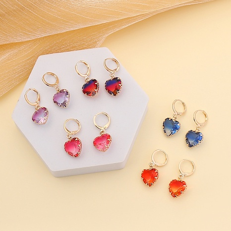 new fashion colorful love earrings  NHBW319754's discount tags