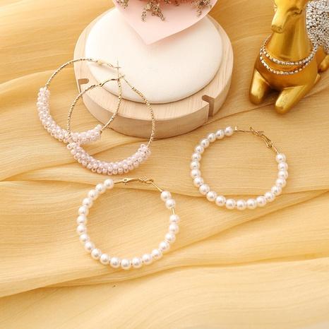 fashion creative pearl earrings  NHBW319789's discount tags