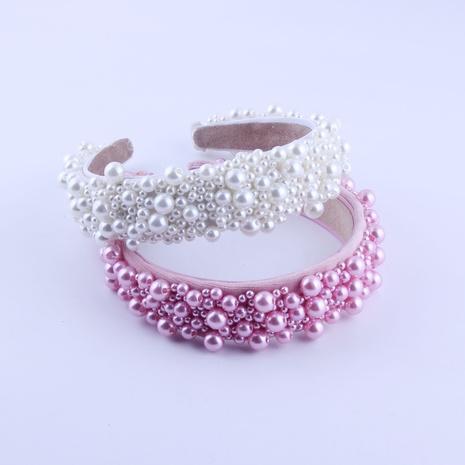 Neues modisches einfaches Perlenstirnband NHWJ319833's discount tags