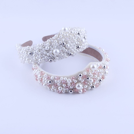 Geometrisches Stirnband aus neuem Modeperlenkristall NHWJ319838's discount tags