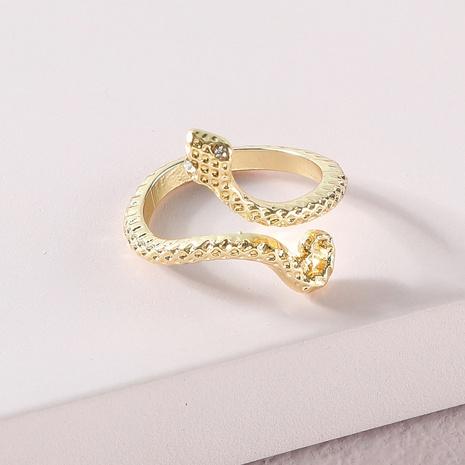 Anillo de serpiente de aleación simple de Corea de moda NHLU319941's discount tags