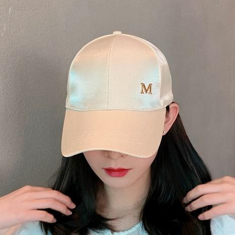 fashion hip-hop mercerized couple baseball cap NHCM320108's discount tags