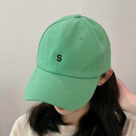 Korean letter sunscreen baseball cap  NHCM320115's discount tags