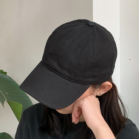 fashion all-match solid color baseball cap NHCM320117's discount tags