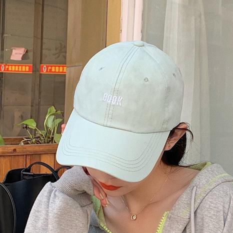 Bean green trendy letter hip hop baseball cap NHCM320118's discount tags