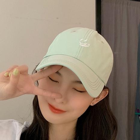 Korean letter hip hop sunscreen baseball cap NHCM320120's discount tags