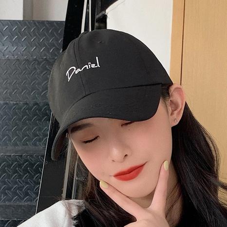 Korean letter hip hop baseball cap NHCM320121's discount tags