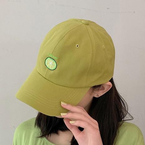 fashion lemon hip hop baseball cap NHCM320124's discount tags