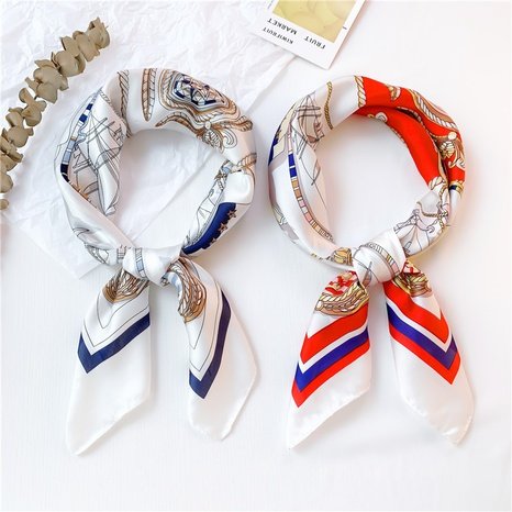 new fashion square korean satin scarf NHCM320133's discount tags