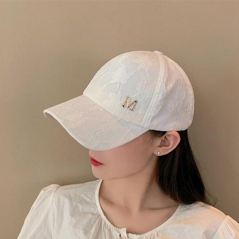 summer lace sun-shading breathable baseball cap NHCM320157's discount tags