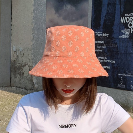double-sided anti-ultraviolet double arrow fisherman hat  NHCM320159's discount tags