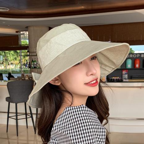 Korean summer new UV fisherman hat  NHCM320161's discount tags