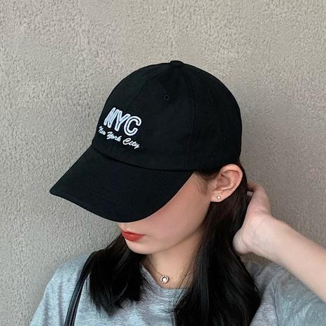 fashion casual sunshade couple baseball cap NHCM320174's discount tags