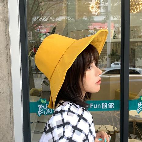 fashion big brimmed sunshade fisherman hat  NHCM320184's discount tags