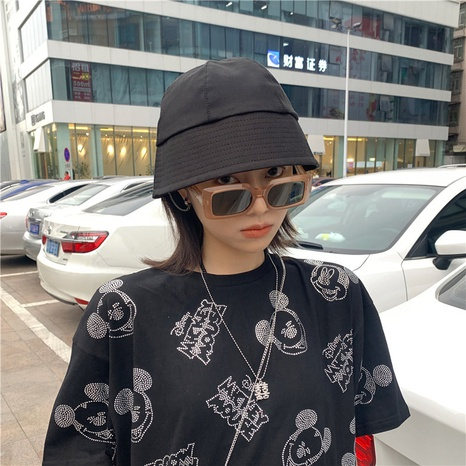 fashion bell-shaped pure color basin hat  NHCM320190's discount tags