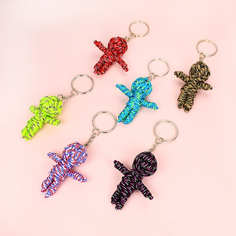 cute little mummy key ring pendant keychain NHAP320196's discount tags
