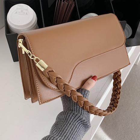 new trendy fashion simple retro portable shoulder bag NHTG320315's discount tags
