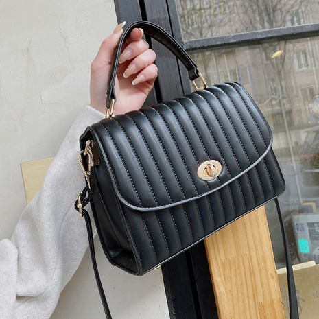 new fashion texture one-shoulder messenger bag NHTG320318's discount tags
