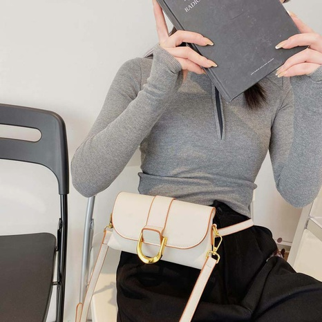 new fashion pu shoulder messenger bag NHTG320319's discount tags