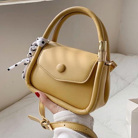 Fashion mini silk scarf portable small square bag handbag NHTG320341's discount tags
