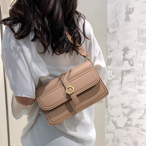 Simple new fashion texture shoulder bag  NHTG320351's discount tags