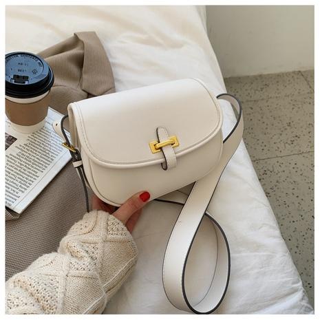 Fashion saddle bag PU single shoulder messenger bag NHTG320357's discount tags