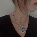 fashion blue ocean star necklace NHYQ320654