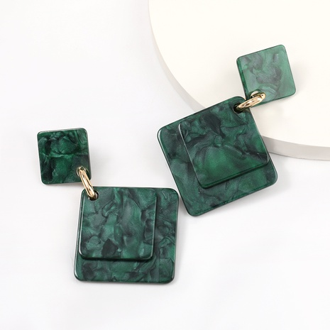 fashion simple square earrings wholesale NHJE320736's discount tags