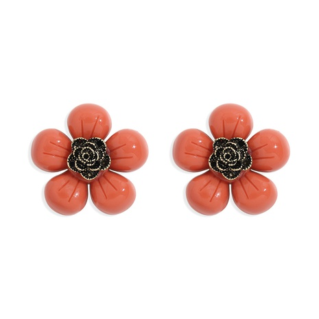 exquisite acrylic flower earrings  NHJQ320777's discount tags