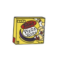 creative pizza box brooch set NHMO320896