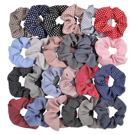creative stripe wild style hair scrunchies set NHMO320922's discount tags