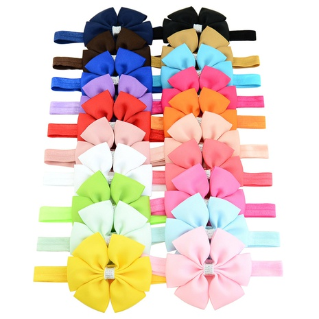 new fashion multi-layer lace silver border bow headband set NHMO320934's discount tags