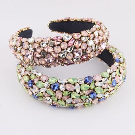 bandeau boule éponge diamant couleur NHWJ320948's discount tags