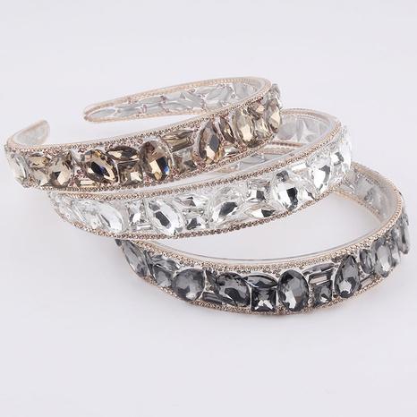 Korean fashion rhinestone headband  NHWJ320951's discount tags