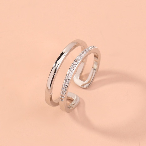 fashion double-layer open ring  NHAN320958