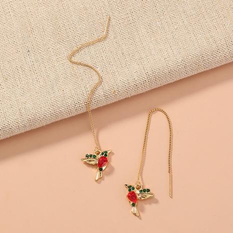 new fashion long bird wings earrings NHAN320957's discount tags