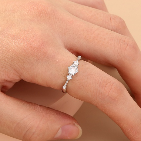 fashion diamond opening adjustable ring NHAN320981's discount tags