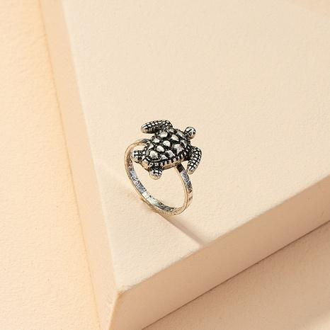 fashion tortoise retro ring NHGU321008's discount tags