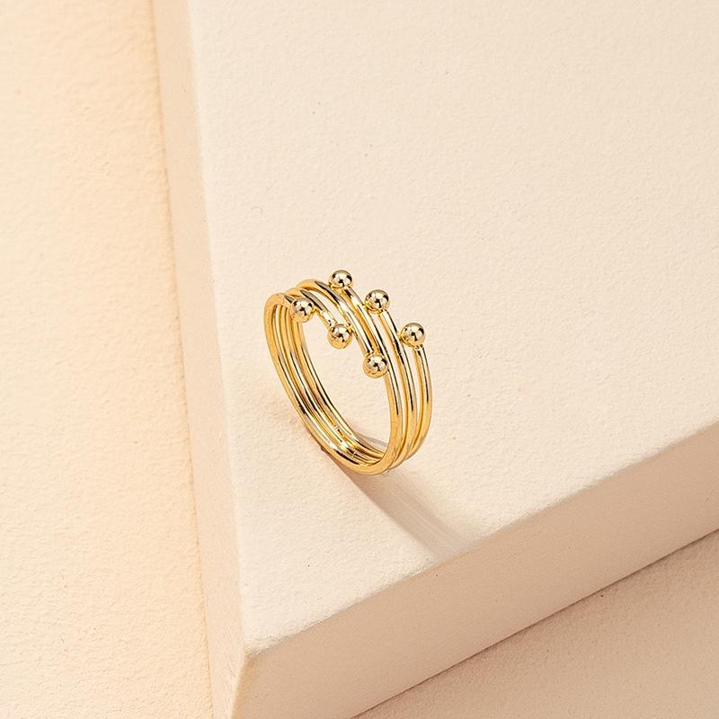 fashion simple open ring  NHGU321011