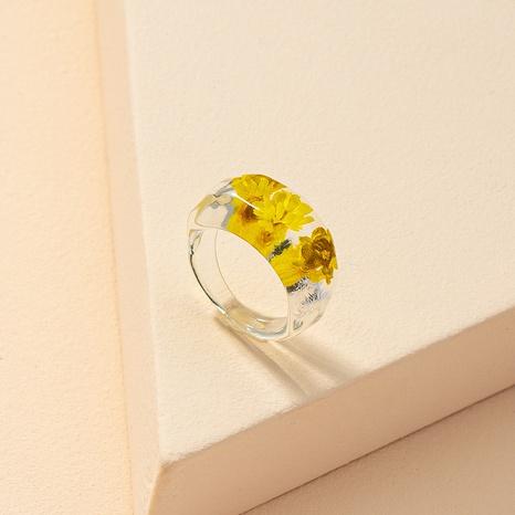 fashion dried flower ring NHGU321025's discount tags