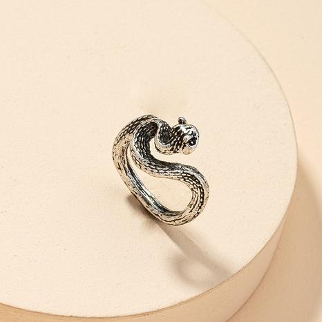 anillo retro serpiente de moda NHGU321039's discount tags