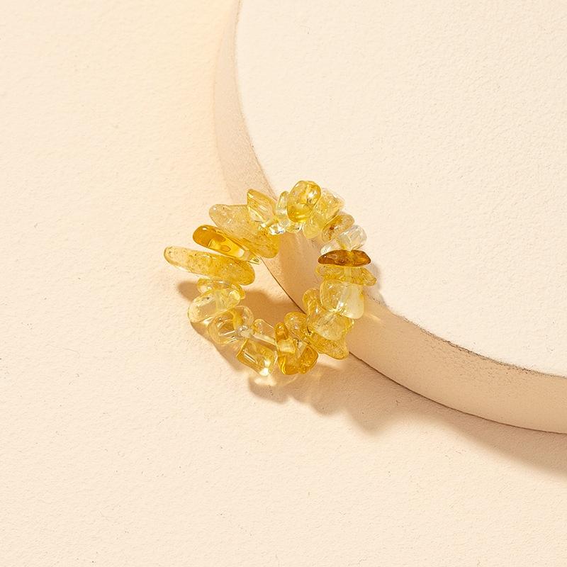fashion crystal stone ring NHGU321041