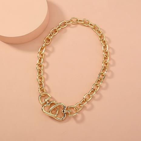 collier imbriqué d'amour de mode NHAN321151's discount tags