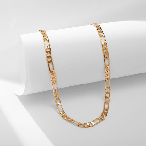 nouveau collier à chaîne plate en alliage créatif NHYI321159's discount tags