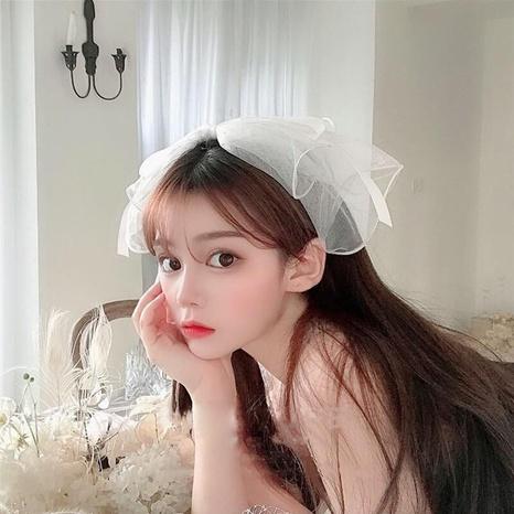Korea Mode Spitze Perle Schleife Haarband NHCQ321175's discount tags