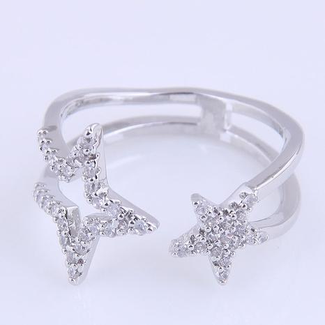 anneau ouvert simple étoile porte-bonheur NHSC321660's discount tags