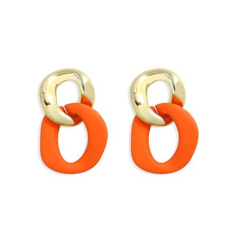 Korean geometric acrylic matte earrings  NHJQ321276's discount tags